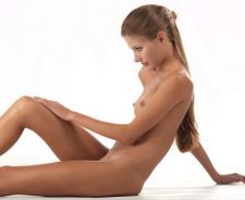 Slender Young Beauty Nude