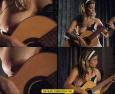 Sonya Walger Compilation Of Topless Naked Guitar Play