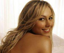 Stacy Keibler Naked Closeup Smiling