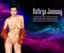 Star Trek Voyager Janeway Nude