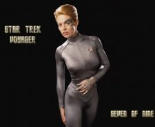 Star Trek Voyager Seven Nine