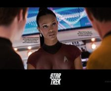 Star Trek Zoe Saldana Naked