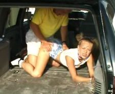 Step Daddy Fucks Step Daughter In Car
