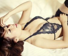 Super Hot Asian Lingerie Stockings Girl