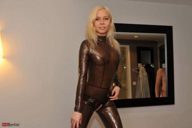 Teen Models In Latex Suit