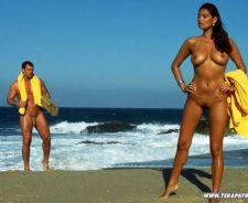 Tera Patrick On Beach