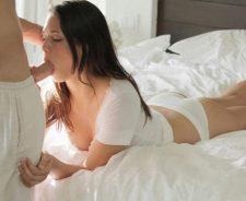Tiffany Thompson Lingerie Panties Dick Sucking Model