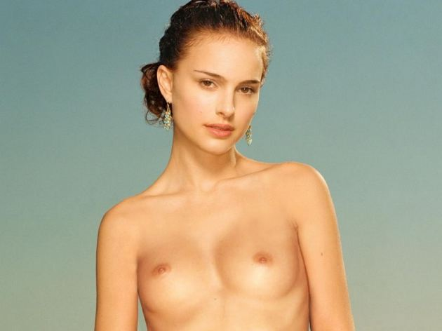 Topless Natalie Portman Maxim