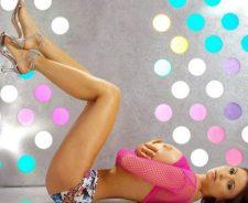 Veronika Zemanova Big Naked Tits Laying