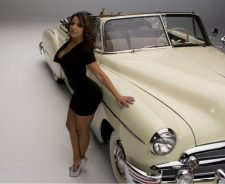 Vida Guerra Hands On Classic Car