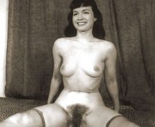 Vintage Betty Page Nude