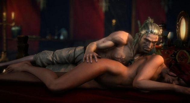 Witcher 2 Sex Scene