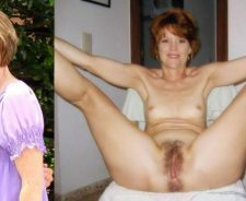 Wives Dressed Then Undressed Granny