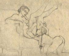 Woman Erotic Art Drawings