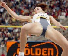 Women High Jump Camel Toe