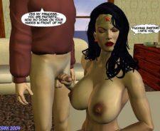 Wonder Woman 3d Sex