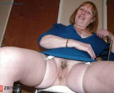 Would You Hit That Granny Upskirt