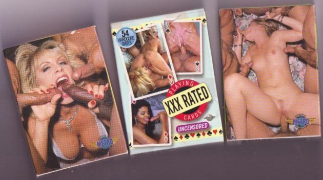 Xxx Vintage Porn Playing Cards
