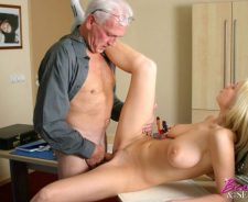 Young And Old Man Busty Teen