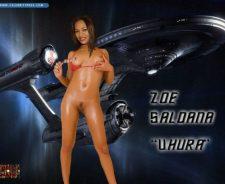 Zoe Saldana Star Trek Nude Fakes