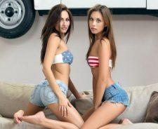 tube7 Teen Lesbians Michaela Michaela Isizzu Sabrisse Model Erotic